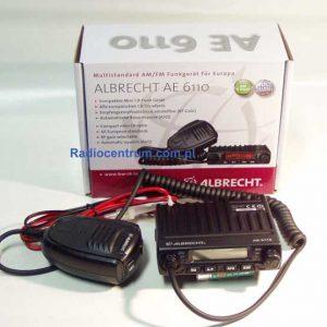 Albrecht 6110 Radiotelefon CB Najmniejsze radio