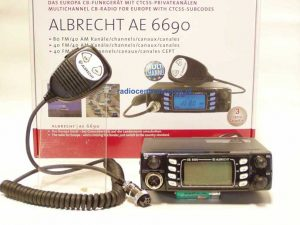 Albrecht AE-6690 Radiotelefon CB