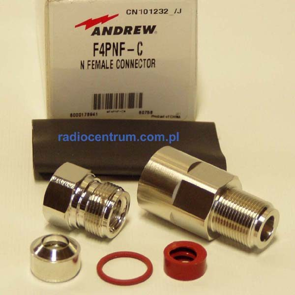 Andrew F4PNF C Gniazdo N na kabel FSJ-4