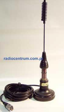 Alan Black 73 cm Antena magnetyczna CB