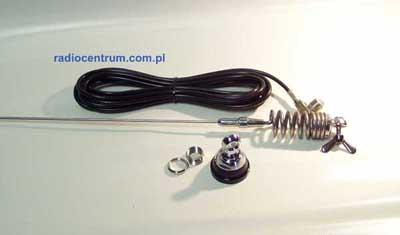 VHF 47 135 S Sirio Antena samochodowa