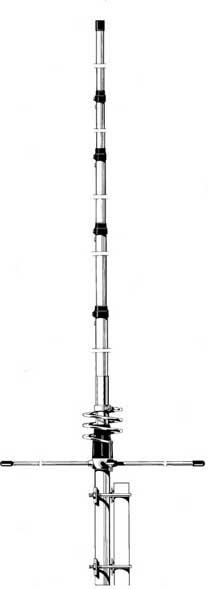 LB TORNADO Antena bazowa 42-50 5/8 501cm