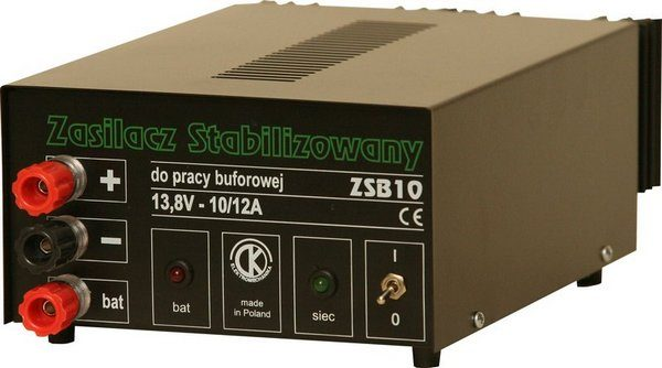 ZS-10B Zasilacz sieciowy 12V Buforowy