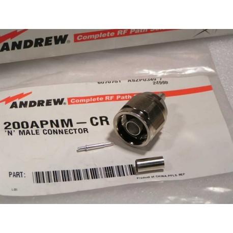Andrew 200 APNM CR Wtyk N na kabel
