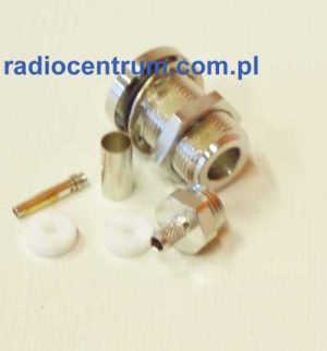 Telegartner Gniazdo N na RG-223 montażowe zaciskane