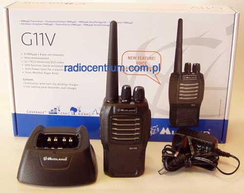 Midland G 11V Radiotelefon PMR 400-470 MHz