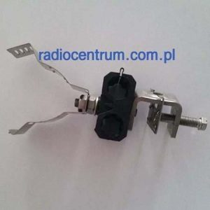 Fimo MCC 2x1/2 + SCC-30 uchwyt na kabel LDF-4 + kabel