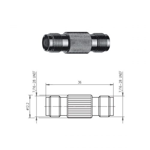 TNC Gniazdo Gniazdo Telegartner J01014A2618