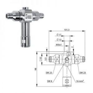 Odgromnik Gazowy N gn N gn Telegartner J01028A0052